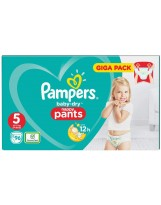 PAMPERS PANTS TAILLE 5 BABY DRY 96 PANTS