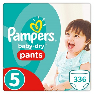 336 COUCHES TAILLE 5 PAMPERS PANTS